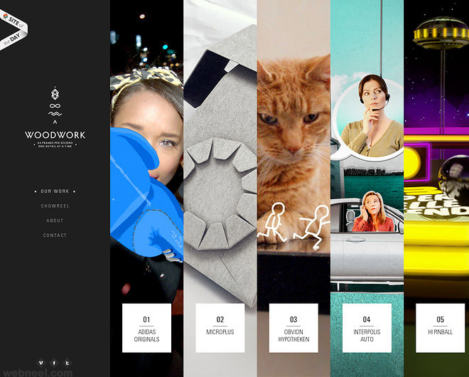 Beautiful Website design creative best colorful