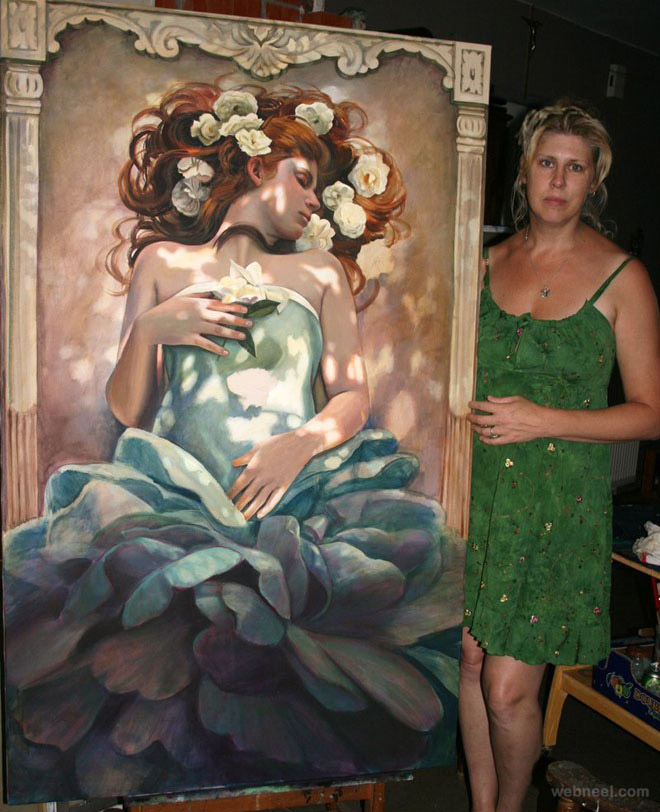 woman paintings
