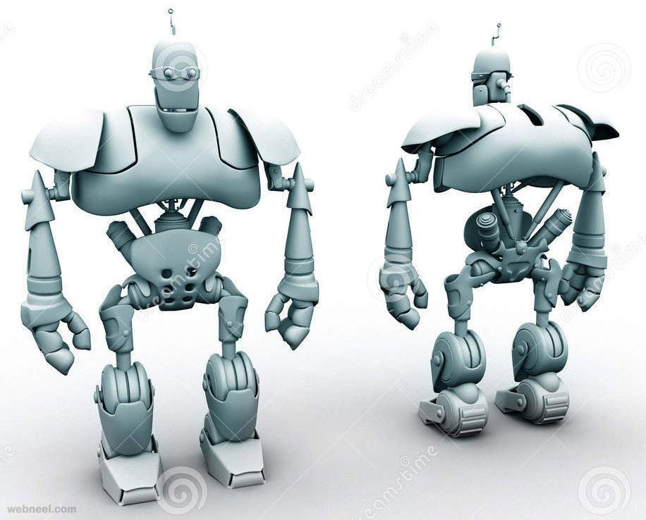 3d robot design