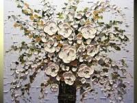 24-bouquet-flower-modern-palette-knife-paintings