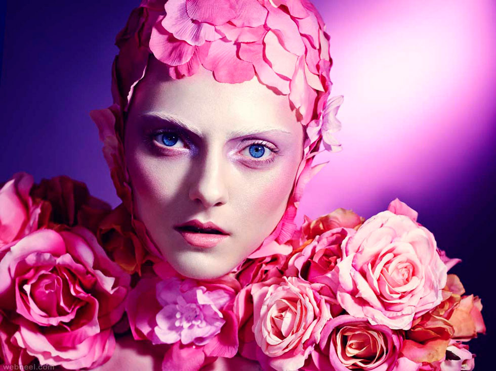 fashion photo rose flowers by elizaveta porodina