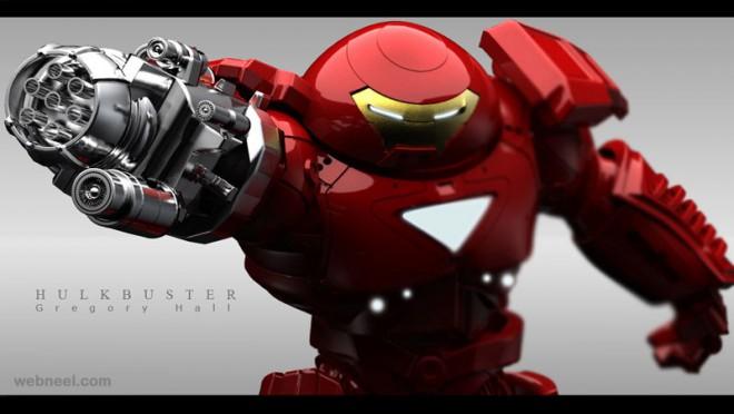 robot hulk buster