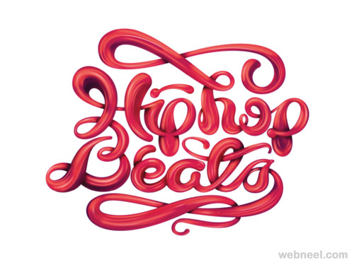 creative typography design
