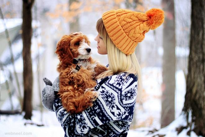 cute puppy love
