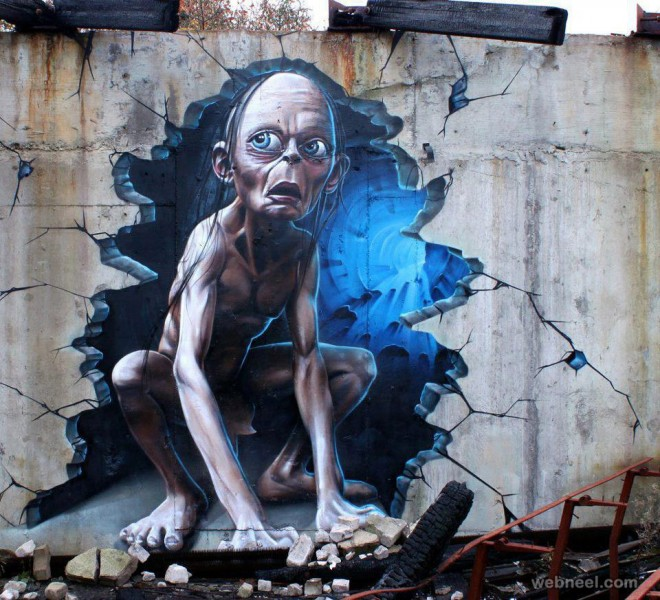 amazing art on wall