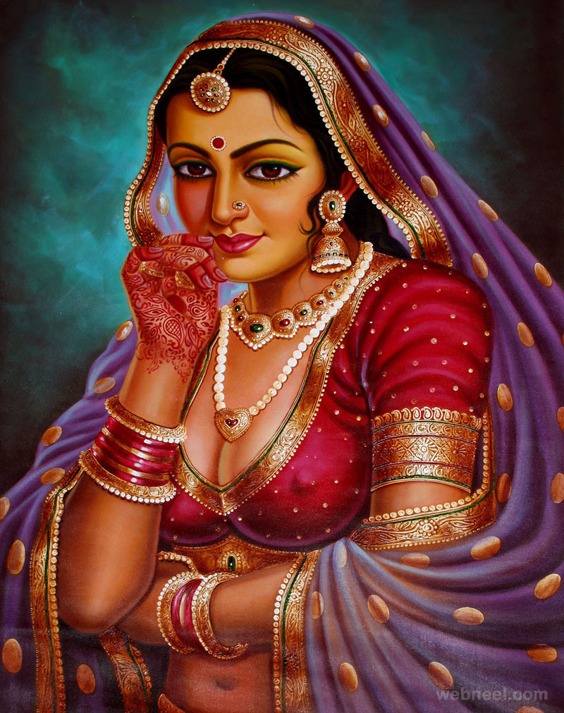 indian paintings 13   Back to ArticleFamous Indian Paintings Of Women