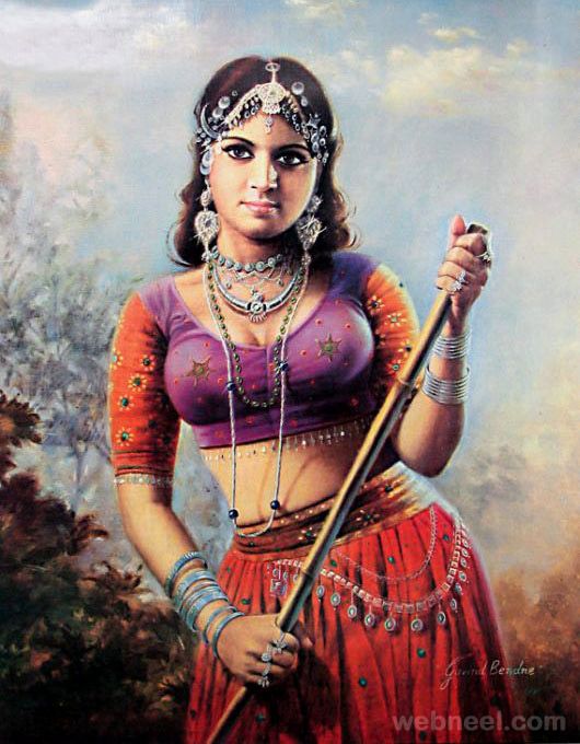 50 Most Beautiful Indian Paintings - 106.7KB