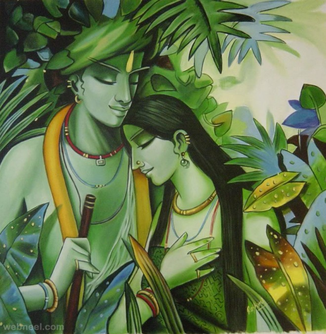 50 Most Beautiful Indian Paintings from top artists for your ...