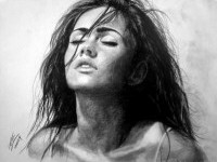 18-charcoal-drawing-megan-fox