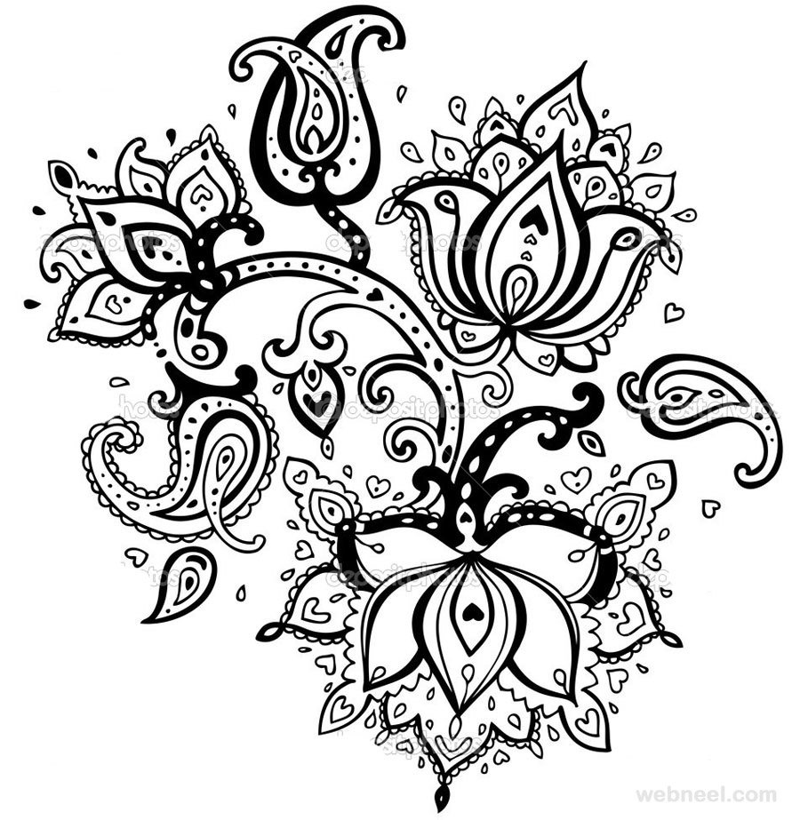 Flower Drawings Images amp Pictures Becuo