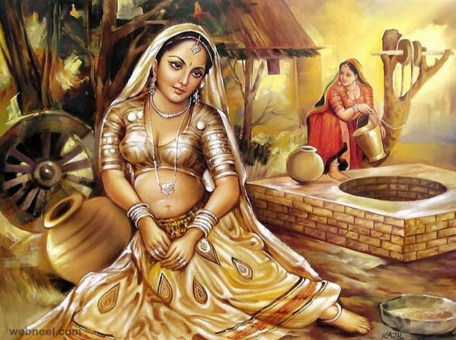 rajasthani indian paintings
