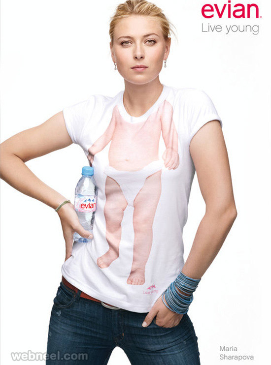 advertising campaign evian