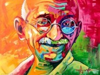4-indian-gandhi-paintings