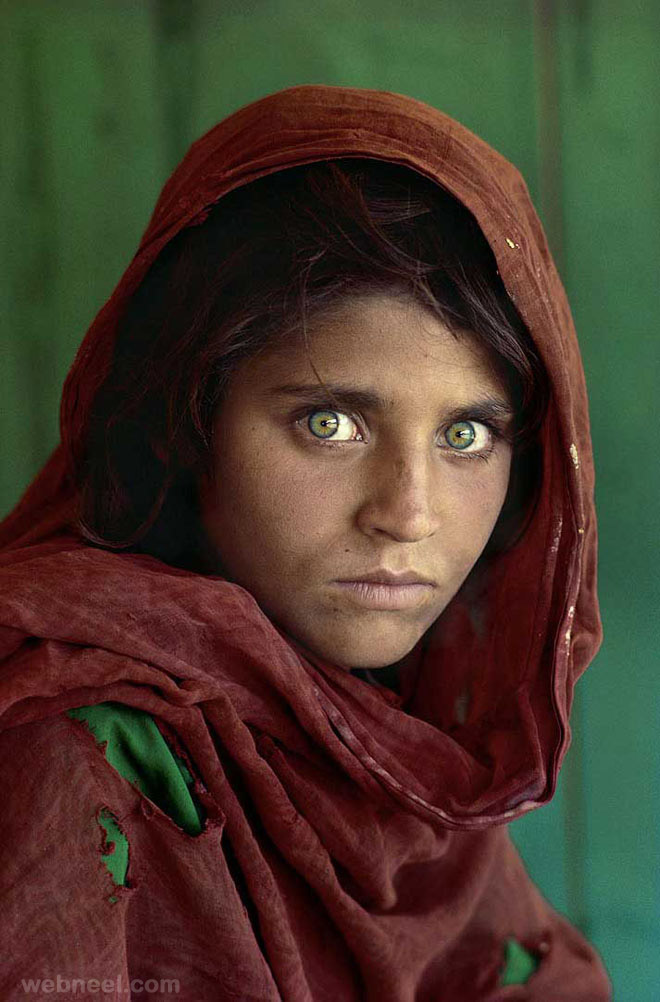 sharbat gula steve mccurry famous photographer