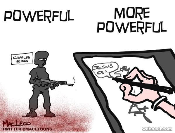 charlie hebdo attack cartoon