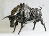 1-bull-metal-sculpture-by-tomas-vitanovsky