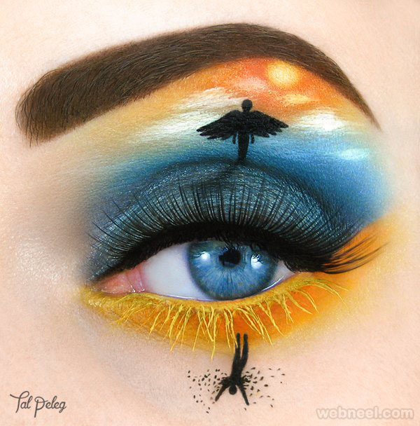 angel eye makeup art