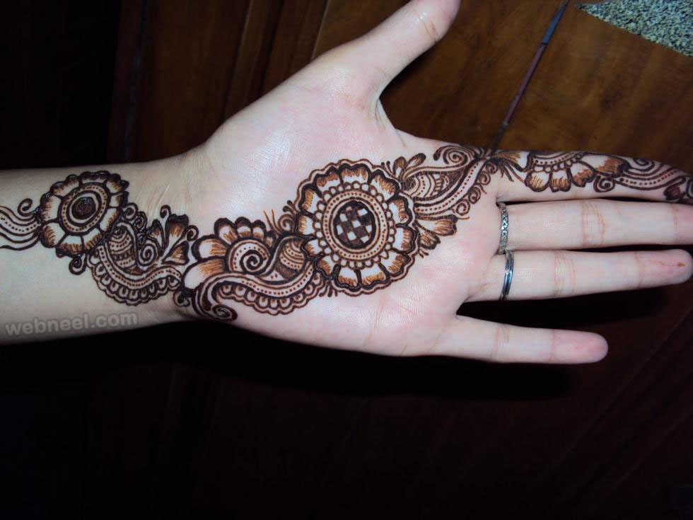New Party Mehndi Designs : Mehndi design party 13 full image