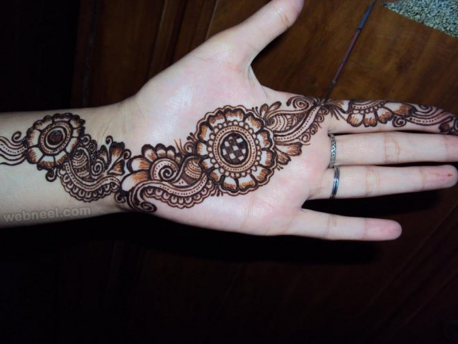 mehndi design party