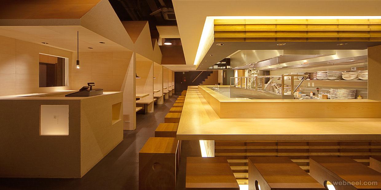 restaurant design shyo ryu ken japan