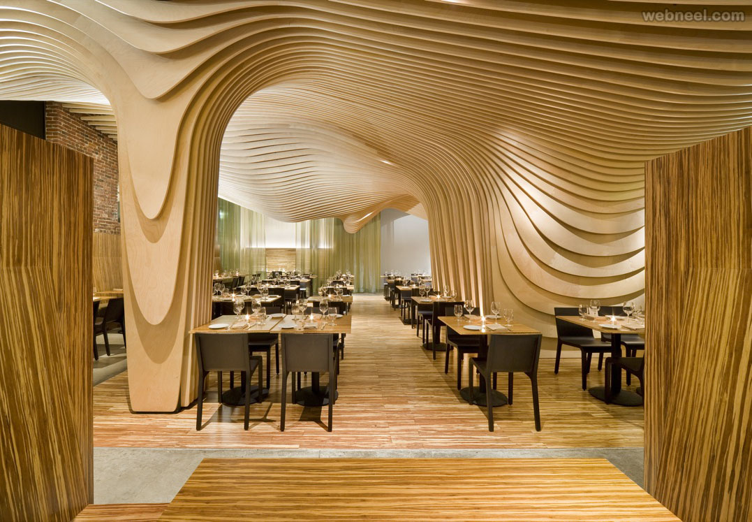 restuarant design banq boston