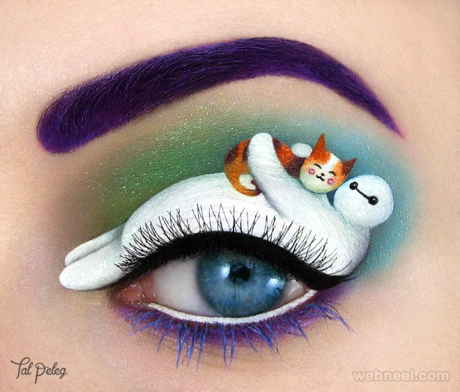 cat eyes makeup art