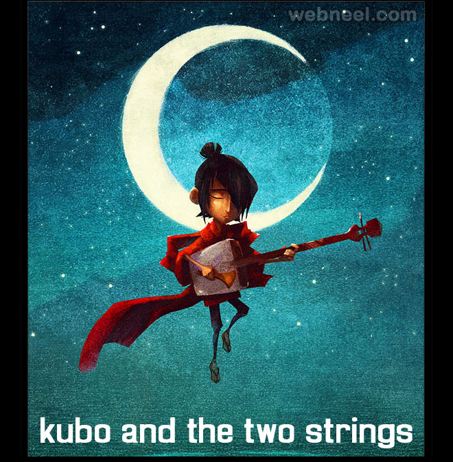 kubo and the two strings animation movie list 2016