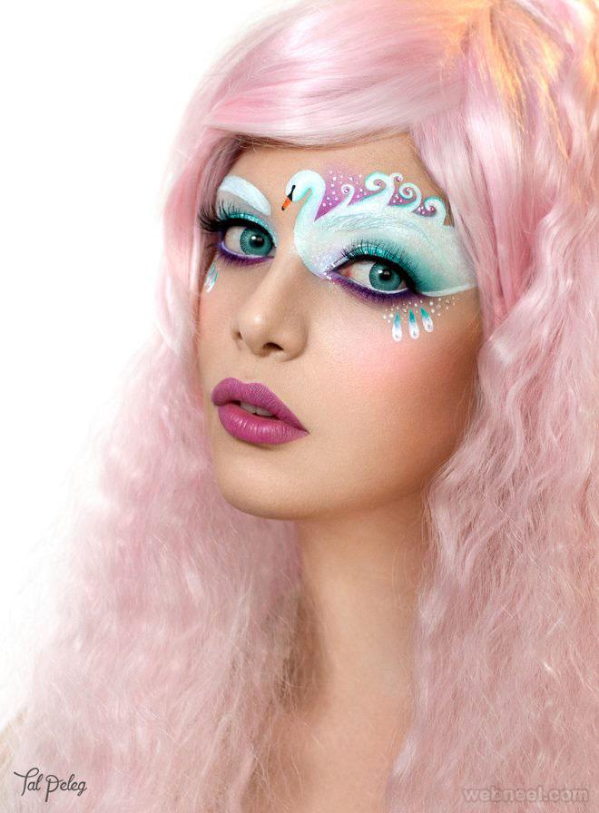 swan eyes makeup art