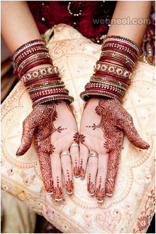 Mehndi Designs For Hands Red : Mehndi designs red