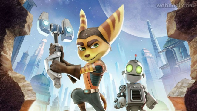 ratchet and clank animation movie list 2016