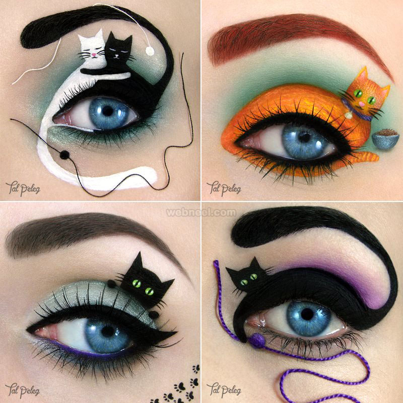 cats eyes makeup art