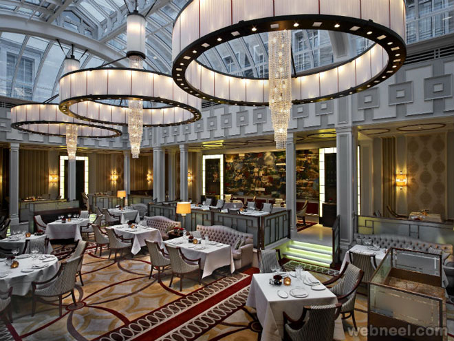 Restaurant design lanesborough london 18 for Restaurant design london