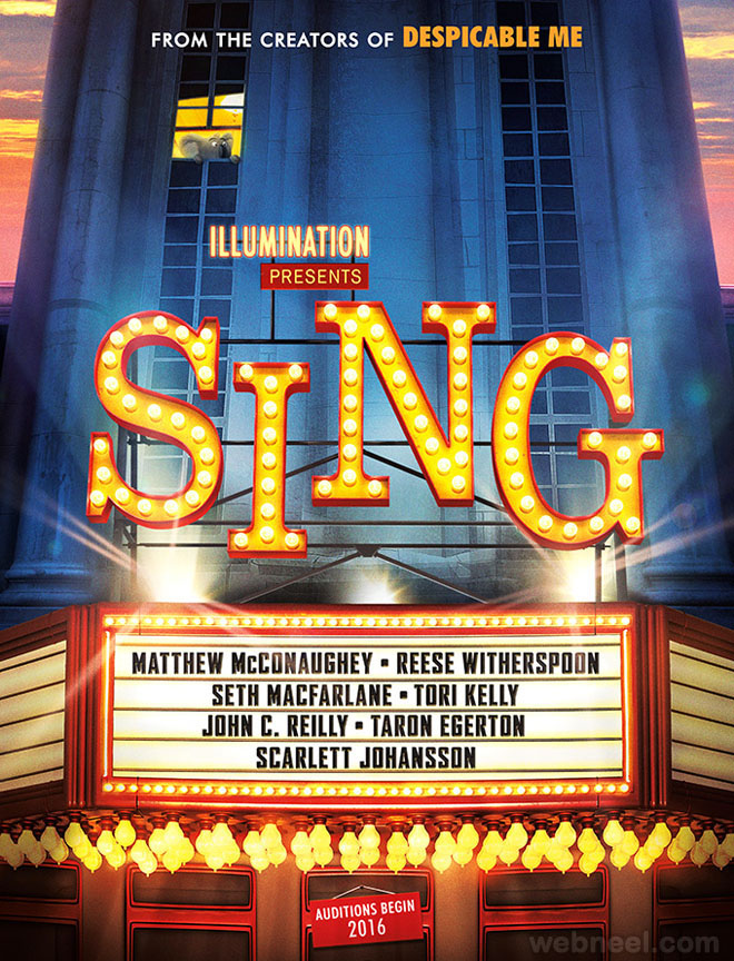 sing animation movie list 2016