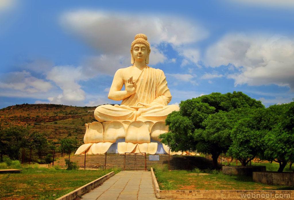 buddha statues belum caves andhrapradesh