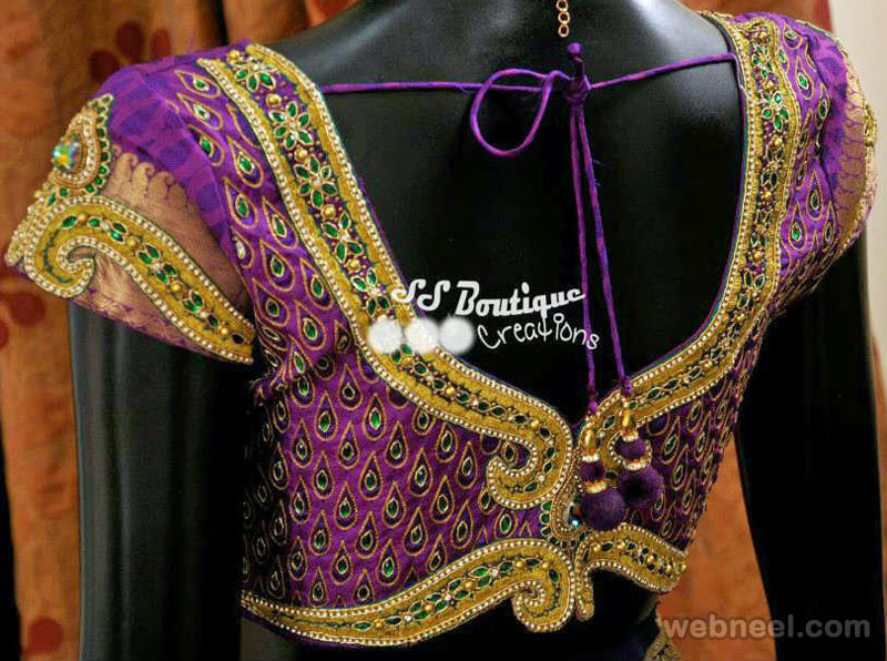 50 Different Types Of Blouse Designs Patterns Designer Saree