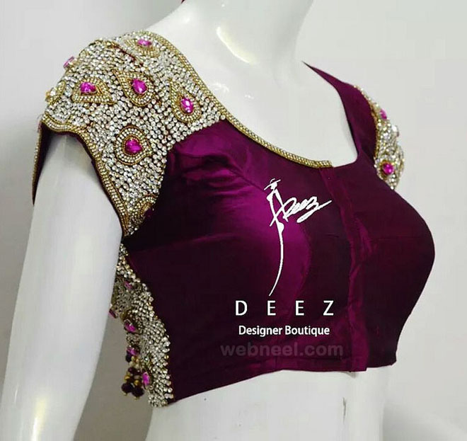 designer blouse design