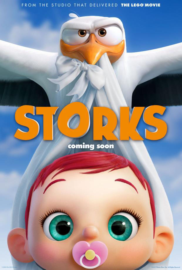 storks animation movie list 2016