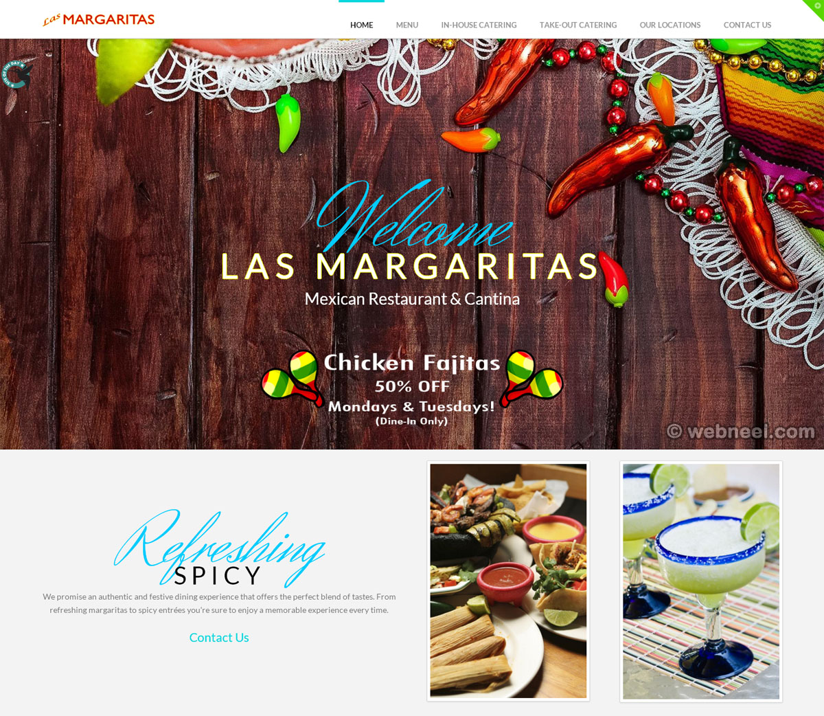 beautiful website design lasmargaritasphilly