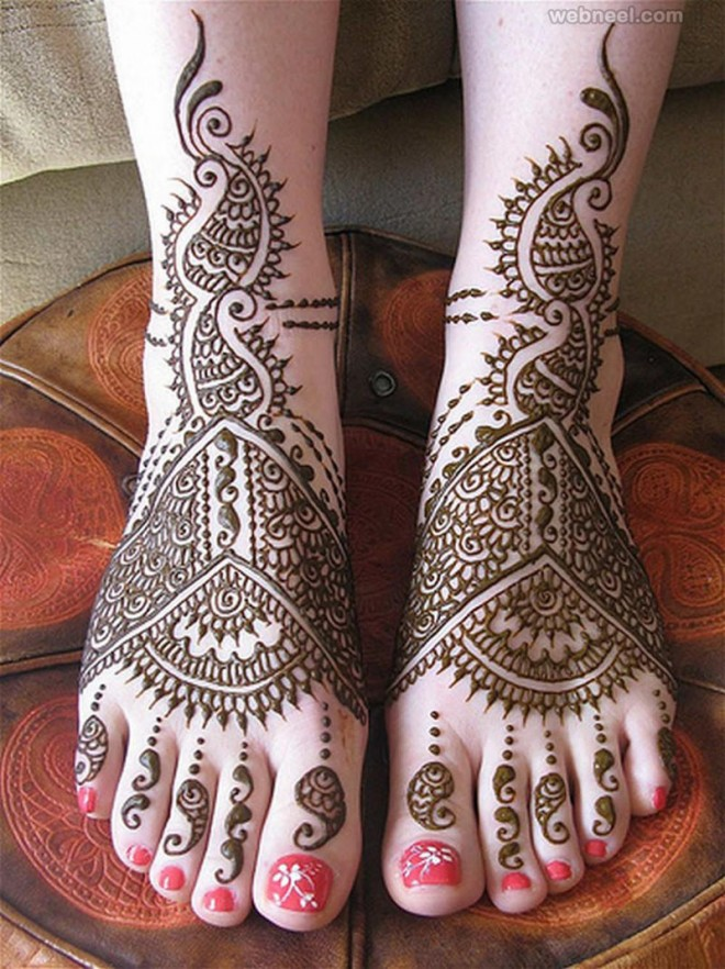 mehndi design bridal