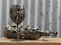 4-wine-glass-metal-sculpture-by-michael-moerkerk