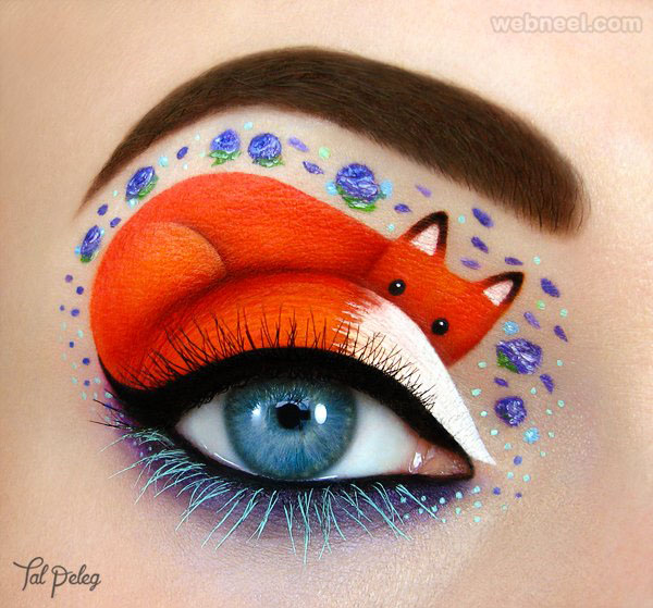 cat eye makeup idea