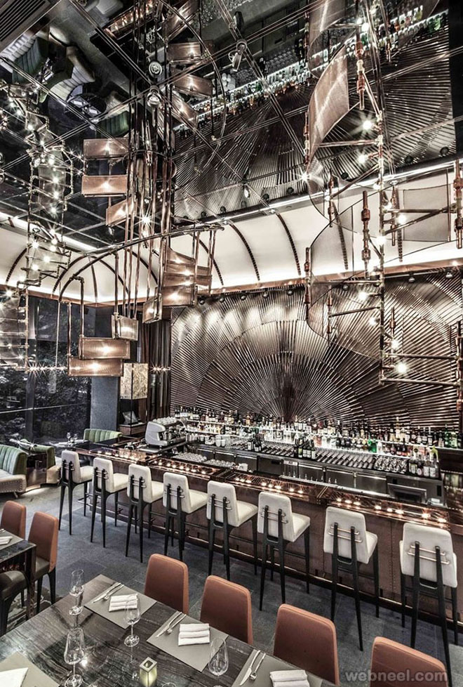 Most beautiful restaurant designs and bar interior
