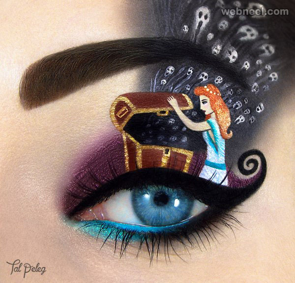 pandora box eye makeup idea