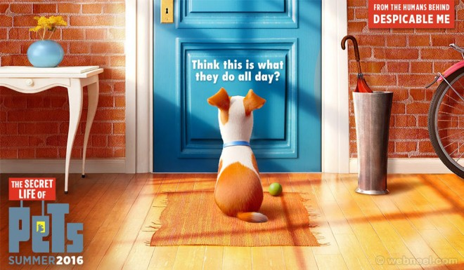 secret life of pets poster animation movie list 2016