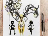 3-swing-watercolor-painting-by-luqmanreza