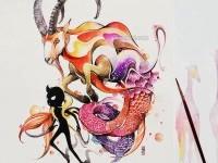 6-capricorn-watercolor-painting-by-luqmanreza