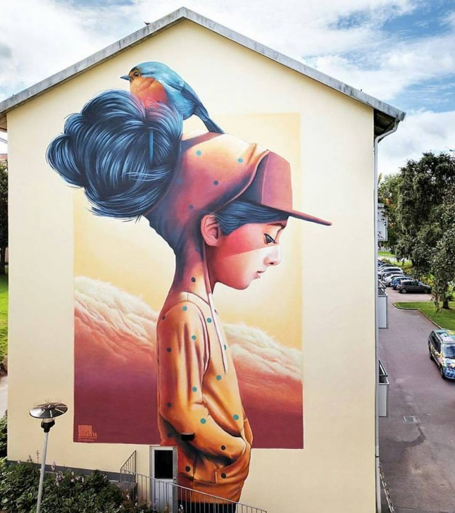 Street art by Linus Lundin