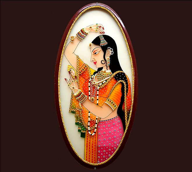 rajput painting princess