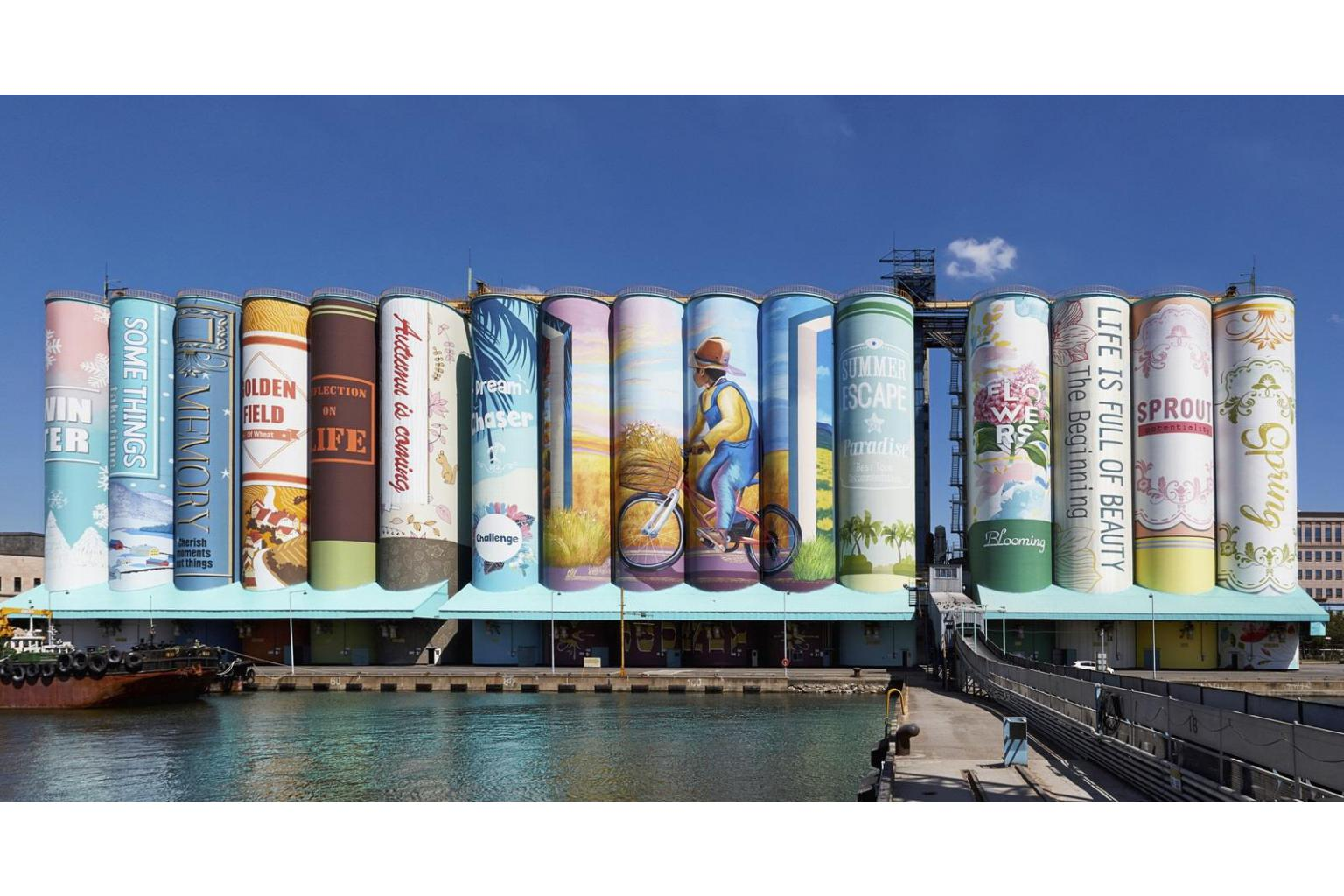 largest mural painting south korea