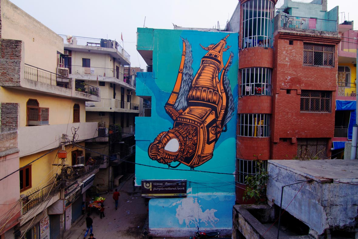 indian street art by startindia